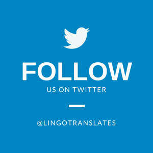 Seuraa Lingoa Twitterissä: @lingotranslates